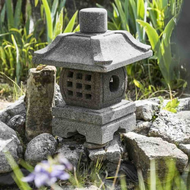 wanda collection lanterne de jardin japonais 40 cm - Lanterne De Jardin