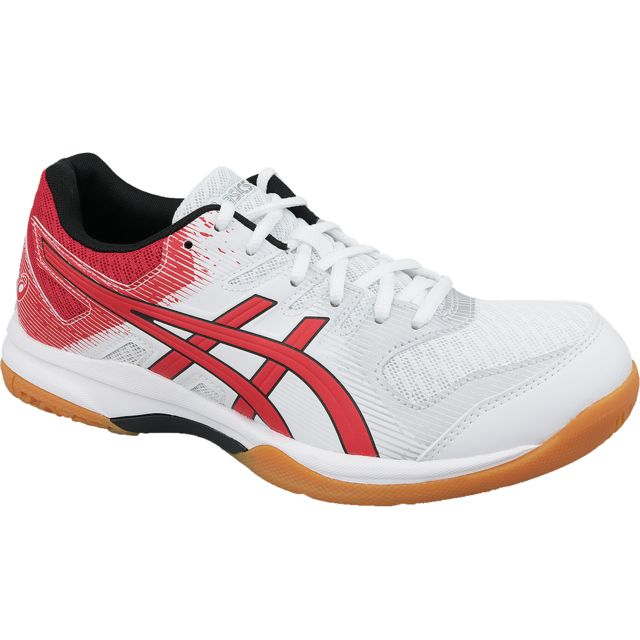 Asics Gel Rocket 9 1071A030 600 chaussures de volley ball pour homme Rouge