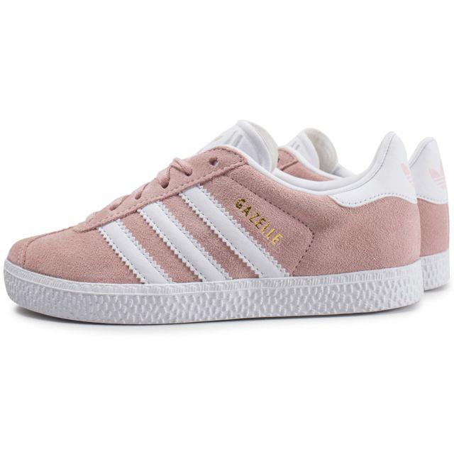 Adidas - Gazelle Enfant Rose Pâle - pas cher Achat / Vente ...