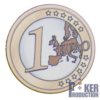 Poker Production - Jetons Euro : 1
