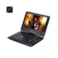Auto-hightech - Lecteur dvd portable 9 pouces resolution 1280x800 carte sd fonction copie enregistrement