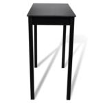 Table bar table haute cuisine rectangulaire 115 x 55 107 cm