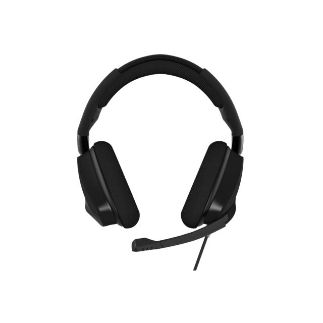 CORSAIR VOID Pro Surround 7.1 USB - Carbon Avec le casque Corsair Gaming VOID Pro Surround 7.1 USB, vous entrez dans le monde du VOID. La gamme de gaming par excellence de Corsair. Repensez votre expérience auditive, adaptez votre gameplay à ce nouvel ang