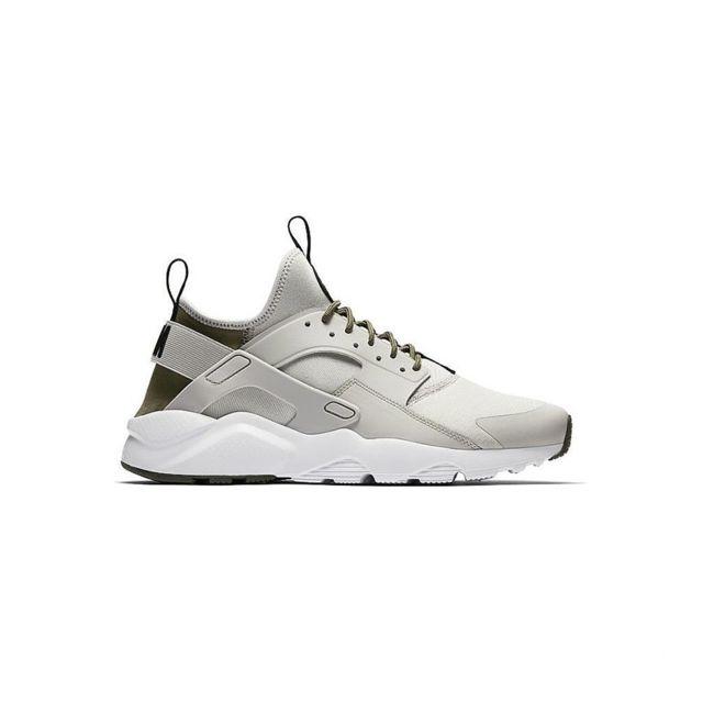Nike - Air Huarache Run Ultra - 819685-009 - Age - Adulte, Couleur - Gris, Genre - Homme, Taille - 40,5