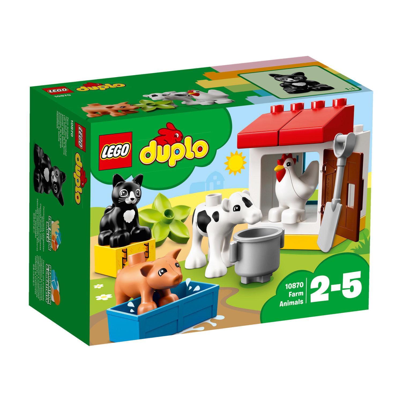10870 Duplo® Ville™ : Les animaux de la ferme