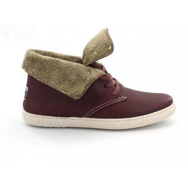 Montantes Victoria Achat Pas Fourrées Teint Cuir Chaussures Cher rxtCsdBhQ