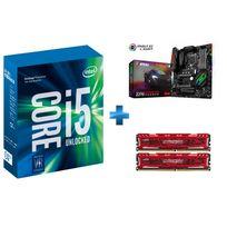 INTEL - Processeur Core i5-7600K 3.80GHz LGA1151 - KABYLAKE + Carte mère MSI Z270 GAMING PRO CARBON Socket 1151 - Chipset Z270 Kabylake + Ballistix Sport LT Kit 16 Go 2 x 8 Go DDR4 2400 MHz