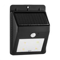 LIGHTCRAFT - Solarlux luminaire solaire d'extérieur détecteur de mouvement 4 LED - blanc chaud sans câble