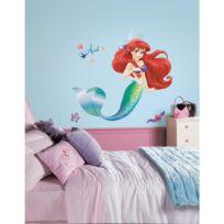 Mon Beau Tapis - Stickers Disney La Petite Sirene Ariel Géant Roommates Repositionnables 98x80cm