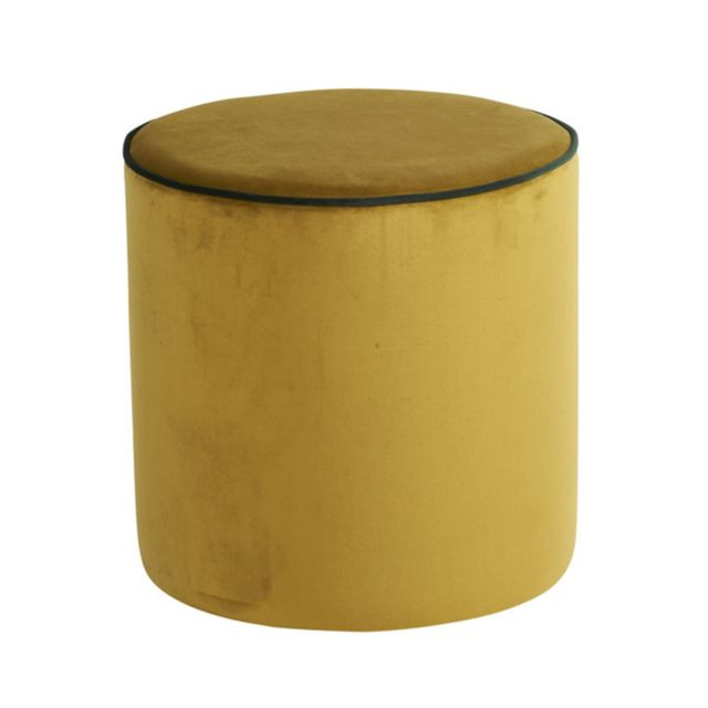 Athezza Pouf Countra velours - bronze
