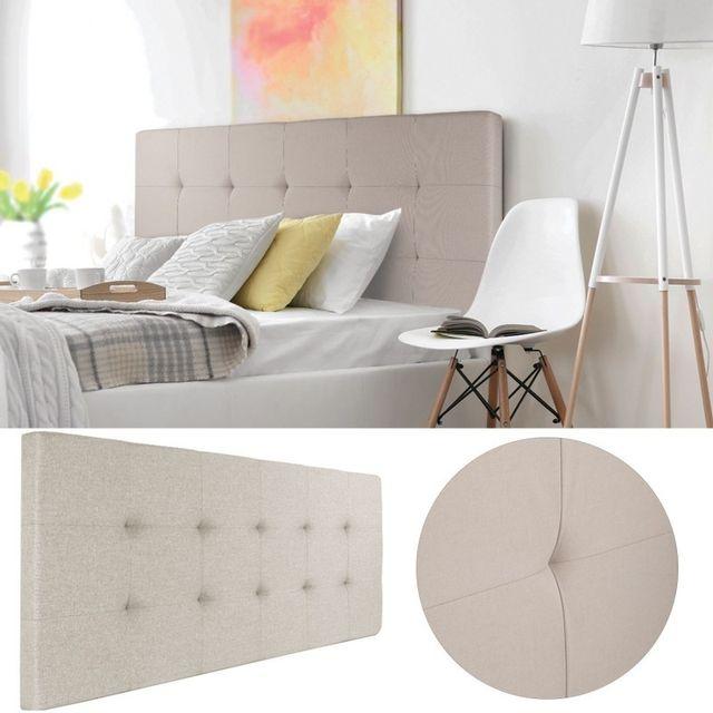 tete de lit hauteur 80 cm excellent awesome elegant lit personnes en bois mdf xcm aurora tema. Black Bedroom Furniture Sets. Home Design Ideas