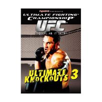 Fight Dvd - Ultimate Fighting Championship - Ultimate Knockouts 3 Import anglais