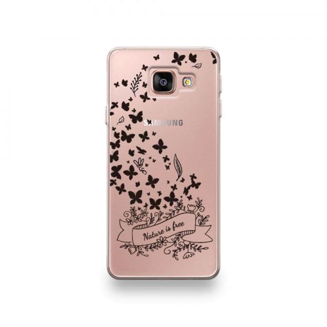 7d942164fd36e Destination Telecom - Coque Samsung J6 2018 motif Nature Is Free Noir