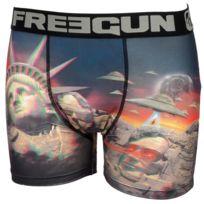 Freegun - Sous vêtement boxer Mrg noir/grs boxer Noir 45198