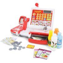 Infantastic - Caisse jouet avec scanner et nombreux accessoires