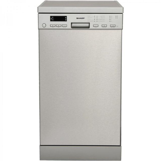 Sharp Lave-vaisselle inox posable 45cm Qw-s24F443I