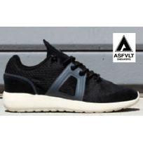 Asfvlt - Sneakers Super Knit Black Noir