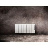 Lvi - Radiateur Aluminium A Fluide Caloporteur Thaj - Dimensions : 600 x 440 x 80 mm - Couleur : Blanc - Sens : Horizontal - Puissance : 500 W