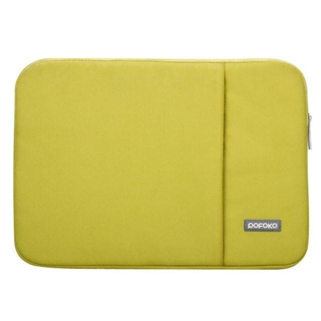 7fcc57fd84 Wewoo - Sacoche pour ordinateur portable vert 15.4 pouces Package interne Pochette  Housse