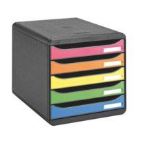 6afc5ae678b48 Exacompta - Module de classement Big-Box Plus Arlequin 5 tiroirs  multicolores