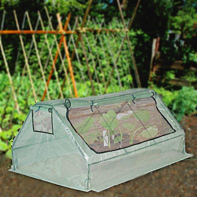 Maison futee serre de jardin 180 cm pour plantes et tomates pas cher achat vente serres en - Serre de jardin carrefour ...