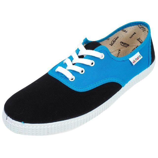 Victoria - Chaussures basses toile Inglesa turq/black Noir 98669 35