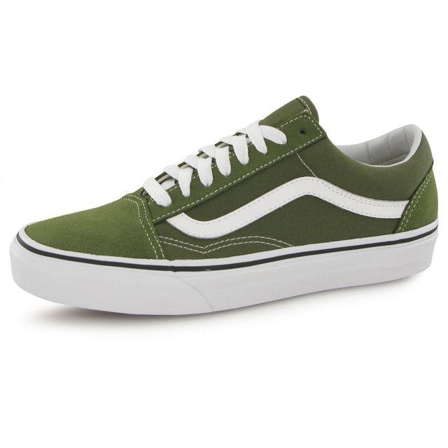 Vans - Old Skool vert, baskets mode homme - pas cher Achat ...