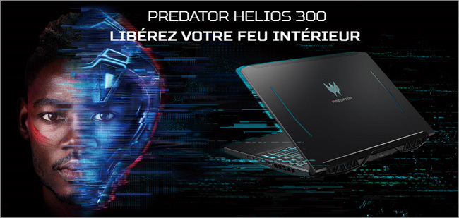 Acer Predator Helios 300 PH315 - Illustration