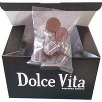 Dolce Vita - pack de 100 capsules de café compatible nespresso 100% arabica - capsule n gran gusto x100