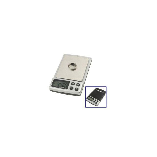 Auto-hightech Balance de poche digitale - 0.01g • 200g Noir