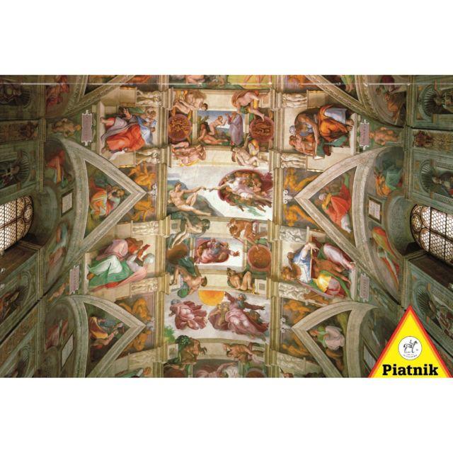 Piatnik Puzzle 1000 Pieces Michel Ange Plafond De La Chapelle