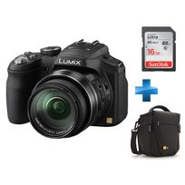 PANASONIC - Pack Amateur FZ200 + Housse + Carte 16Go