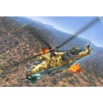 Revell - Maquette hélicoptère : Mil Mi-24D Hind
