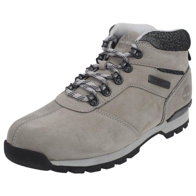 f2ca70771f2 Timberland - Chaussures montantes Splitrock gris Gris 40420 - pas cher  Achat   Vente Baskets homme - RueDuCommerce