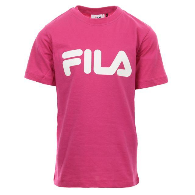 Fila Kids Classic Logo Tee pas cher Achat Vente Tee