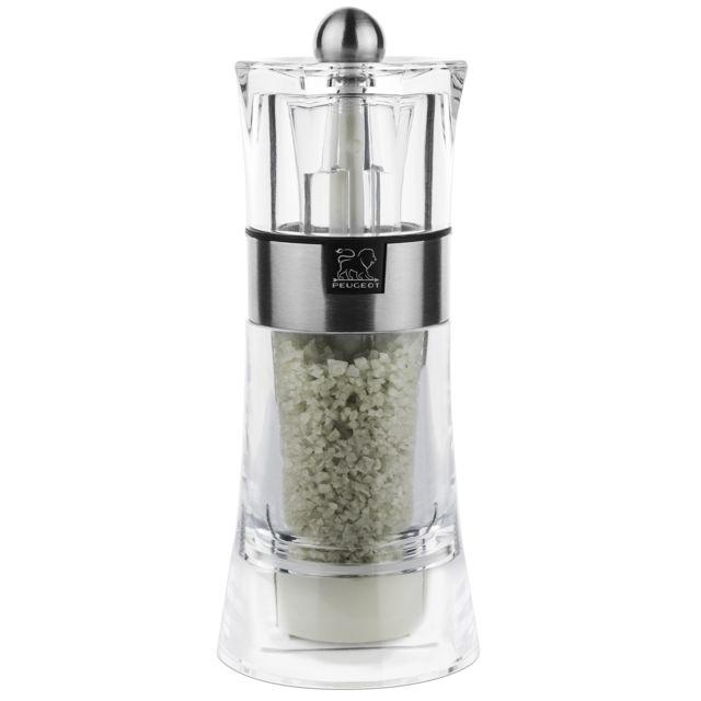 PEUGEOT moulin à sel humide 14cm acryl/inox - 34573