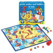 Orchard Toys - Jeux de Société Les serpents et les Échelles Et Ludo Langue: anglais