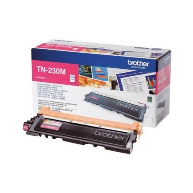 Totalcadeau Toner authentique Brother Tn-230M magenta pour imprimante Brother Hl3040/3070 - imprimante encre toner