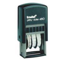 Trodat - Tampon encreur automatique dateur standard 12 formules Printy 4810