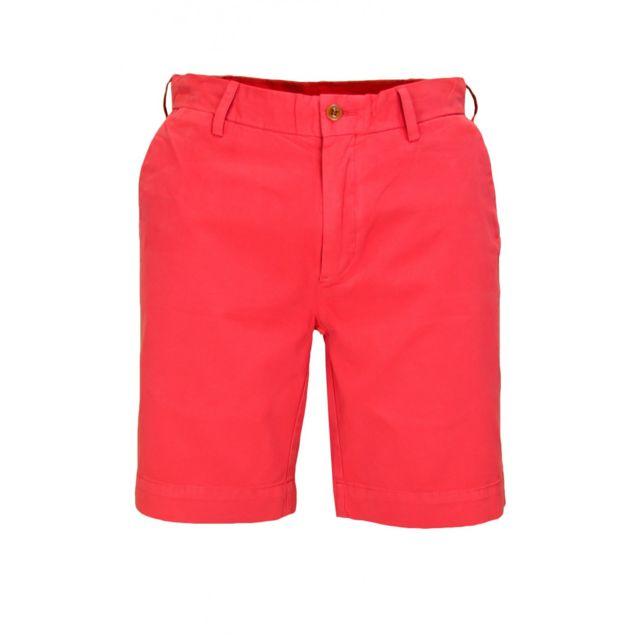 check-out a872e 6740d Short bermuda rouge Newport pour homme