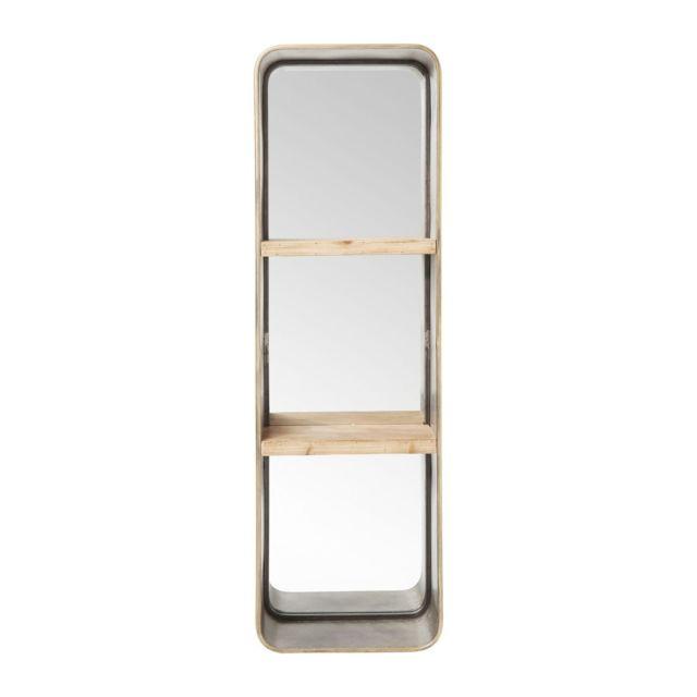 Karedesign Miroir Curve tablettes 120x36cm Kare Design