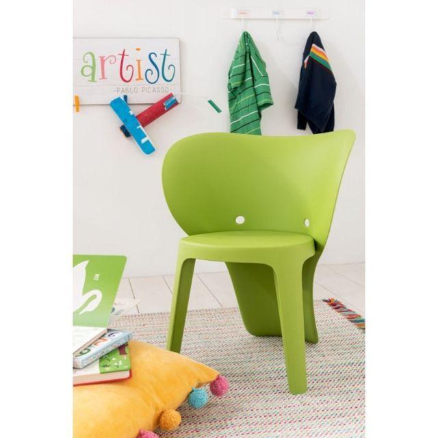 Chaise Enfant Elephant Pp Vert
