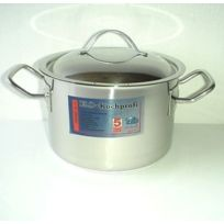Baumalu - 340627 Professionnelle Marmite + Couvercle 6 L Diamètre: 24 cm
