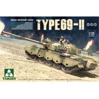 Takom - Maquette char : Iraqui Medium Tank Type 69 - Ii 2 in 1