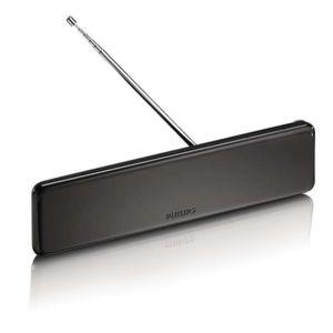 PHILIPS - Antenne design PLAT - 38 db - TNT HD - noir