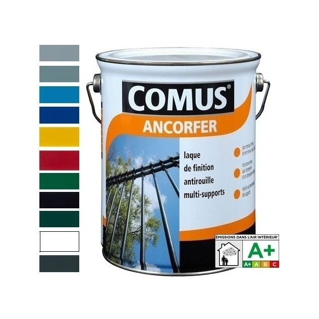 ... Comus   Ancorfer Brillant 0,75L Gris Petit Gris   Peinture Laque De  Finition ...