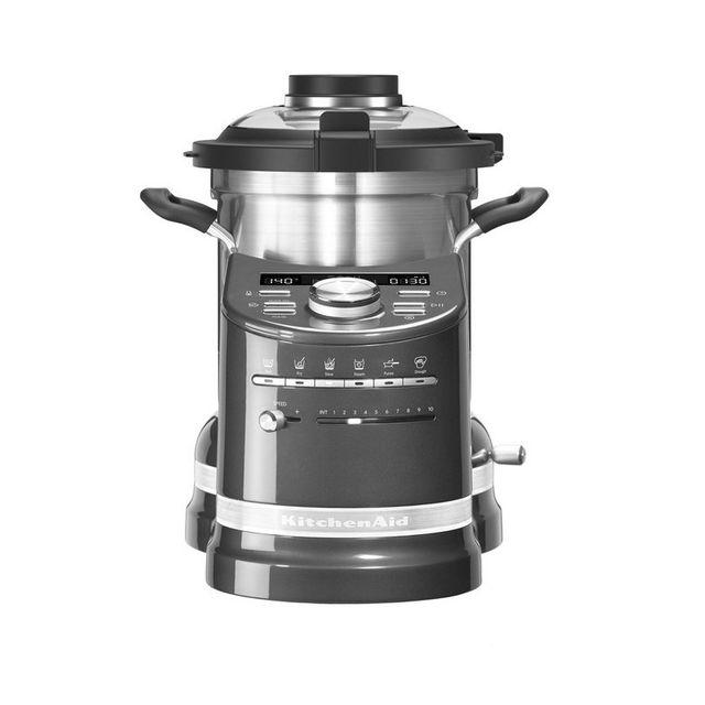 kitchenaid robot cuiseur multifonctions 1500w 5kcf0104ems achat robot multifonction. Black Bedroom Furniture Sets. Home Design Ideas