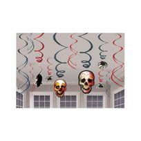 Amscan - Guirlandes verticales Halloween x12