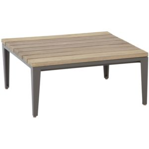 comforium table basse de jardin 71 x 71 cm en teck gris marron 71cm x 32cm x 71cm pas. Black Bedroom Furniture Sets. Home Design Ideas