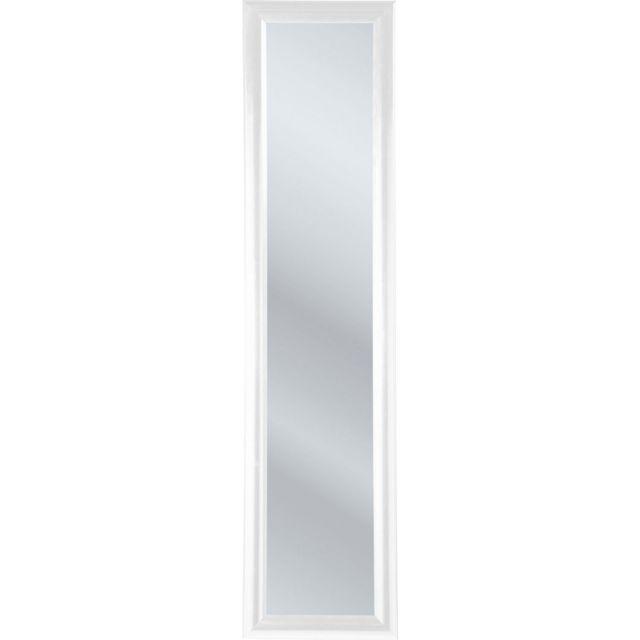 Karedesign Miroir sur pied Modern Living blanc 170x40cm Kare Design